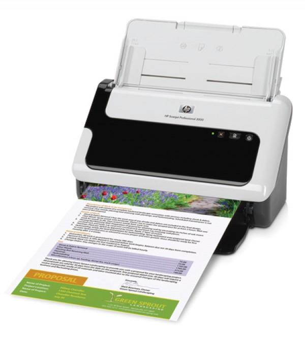 Máy Scan HP Scanjet 3000 Cũ ( Scan màu 2 mặt tự động )