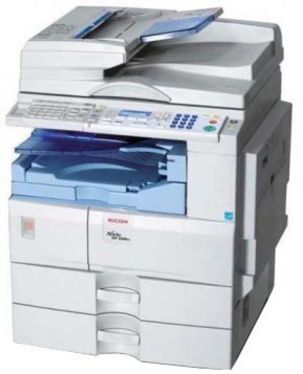 Máy Photocopy Ricoh Aficio MP 2500 Cũ (in,photo a3,a4,scan đen trắng, duplex, adf)